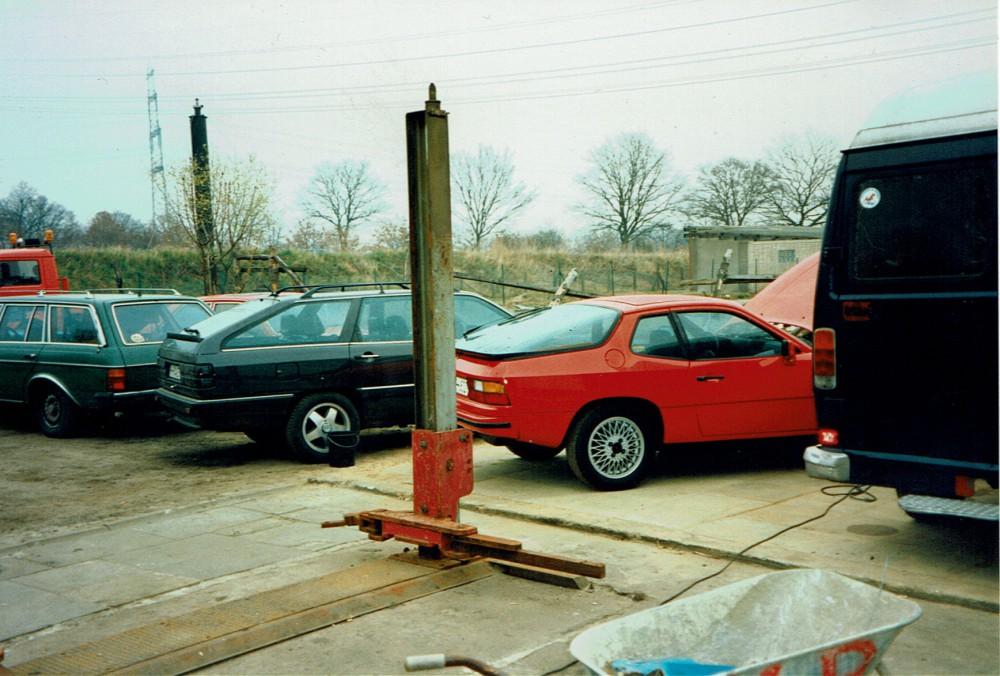 Porsche Werkstatt Pickenpack 1993 Norderstedt