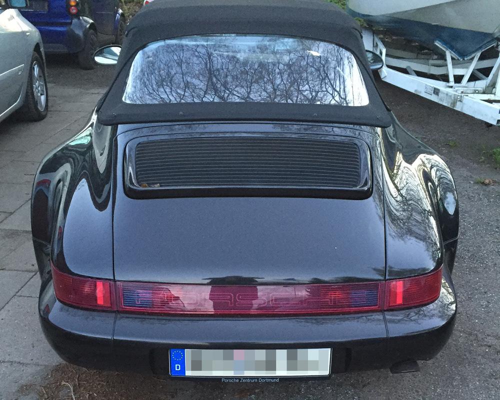Porsche Werkstatt Pickenpack - Porsche 993 WTL